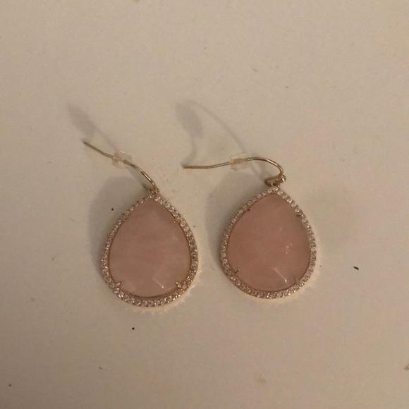 LOFT Jewelry - Never worn light pink earrings